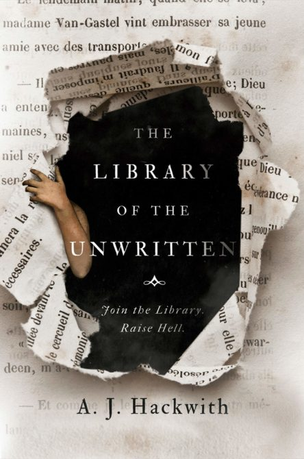 The Library of the Unwritten Cover
